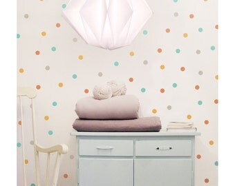 Multi color dots wall decals, wall stickers, wall decor // 4 colors combination