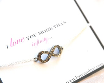 Dainty Three Strand Seed Pearl Bracelet with Monogram