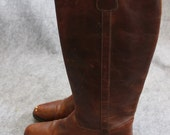 Cole Haan Country brown leather vintage equestrian/riding boots-8.5