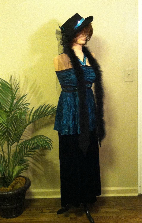 Costume de clapet vintage