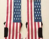 American Flag Custom Nike Elite socks