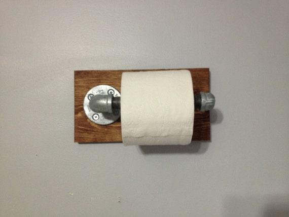 rustique papier toilette industriel titulaire porte papier. Black Bedroom Furniture Sets. Home Design Ideas