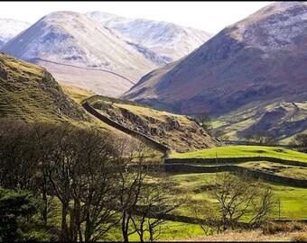 Mountain Pastures - Original Fine Art Photograph - England
