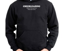 Cheerleading Where The Weak Are Killed And Eaten Hoodie