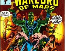 John Carter Warlord of Mars #16, September 1978 Issue - Marvel Comics - Grade Fine