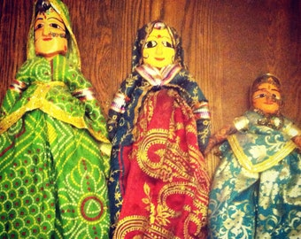 Three Indian Dolls