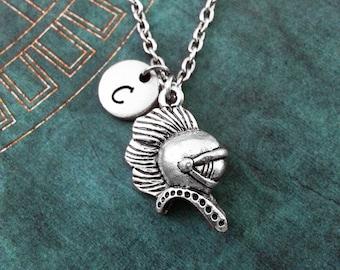 Spartan Necklace, Spartan Helmet Necklace, Spartan Warrior Necklace, Personalized Jewelry, Sparta Necklace, Spartan Gift, Spartan Helm Gift