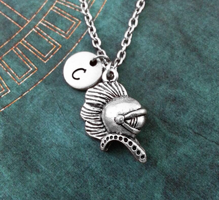 spartan necklace spartan helmet necklace spartan warrior