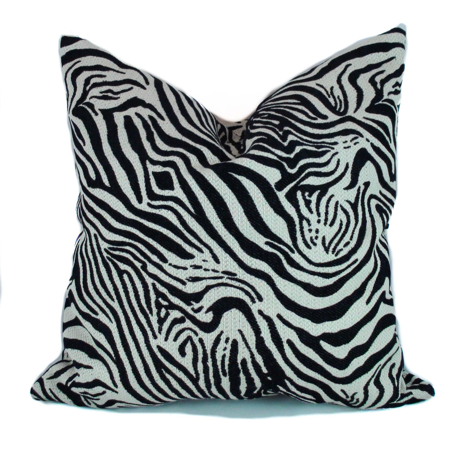 Zebra pillow Throw pillow cover Decorative pillow Animal