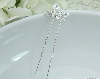 Crystal rhinestone wedding hair pin, bridal hair accessories, rhinestone hairpin, bridal hair pearl, bridal hairpins 206547418