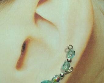 Climbing Earrings - Double Short Loop Style Custom Made