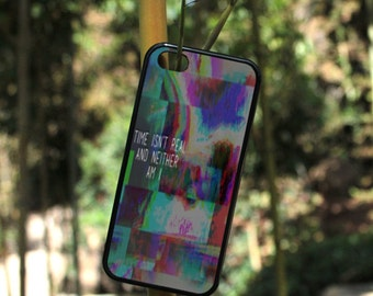 iPhone Case Time isn't real Abstract art For iPhone 4, iPhone 5, iPhone 5c, iPhone 6, iPhone 6 Plus in Plastic, Rubber or Heavy Duty*