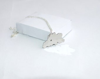 SALE!!! 5 dollars discount from old price!!! Belgium Necklace! Sterling silver chain