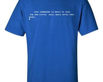 Commodore 64 C64 Start Screen T-Shirt
