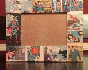 Superman Comic Book Picture Frames