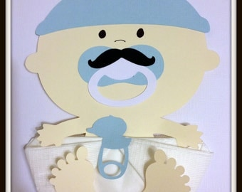 Baby Shower Napkins Baby Boy Mustache Baby Napkins Baby Shower Decor Baby Shower Favors