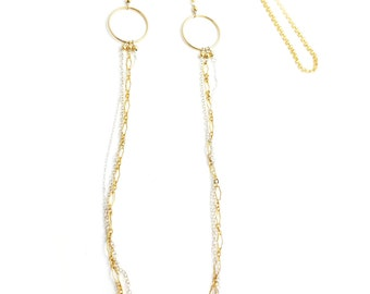 Necklace in 14k Gold Fill Chain - 562