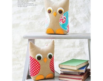Owl Bookends Sewing Pattern Download (803948)