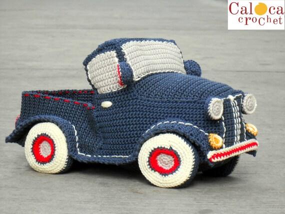Patr 243 N Amigurumi Cami 243 N Pickup Cl 225 Sico Vintage Por Caloca