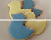 One Dozen Rubber Duck Sugar Cookies