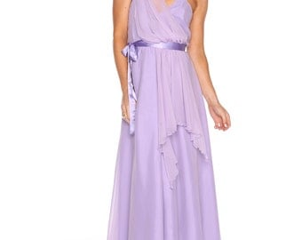 Lilac Midsummer nights dream gown
