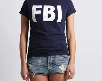 FBI tshirt (fruit of the loom) size S