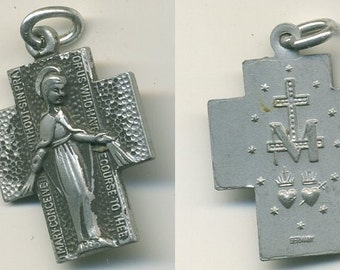 1970s Immaculate Conception Pendant