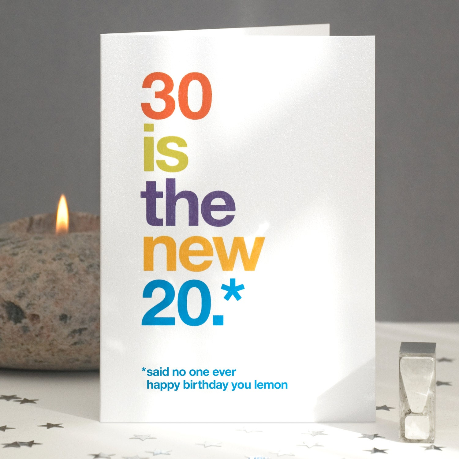 Funny 30th Birthday Card Sarcastic 30th Card Funny 30th