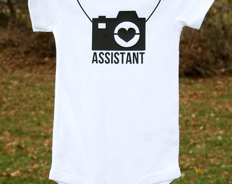 Photographer Camera Assistant Bodysuit or T-shirt
