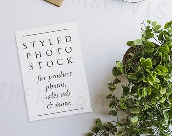 Modern & Minimalist Styled Stock Photography, Product Mockup, Styled Background, Product Photography, Digital Background, Desktop Letters