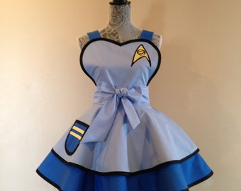 Spock- Retro Apron - aprons