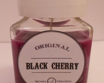Black Cherry Scented Candle.