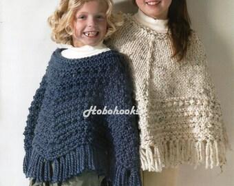 Chunky knit poncho Etsy