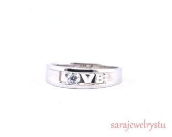engagement ring in platinum or 14ksimple beautiful diamond ring wedding ring jewelry - Simple Wedding Ring