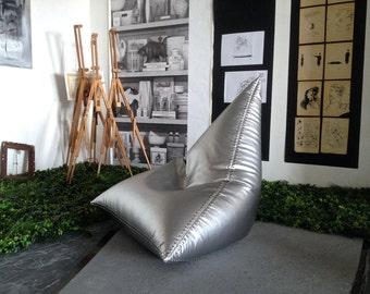 Bag-chair Aviator, Bean bag chairs - genuine Leather Bean Bag Chair