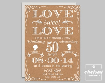 Love Sweet Love Invite