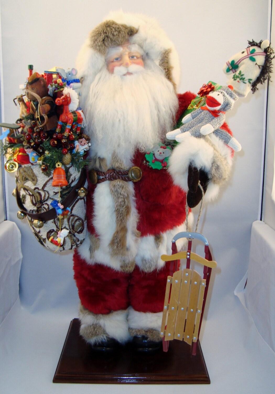 Shop special santa tall claus doll