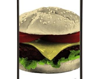 Retro Diner Burger Americana Pop Art Print