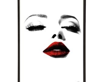 Glamour Pop Art Print