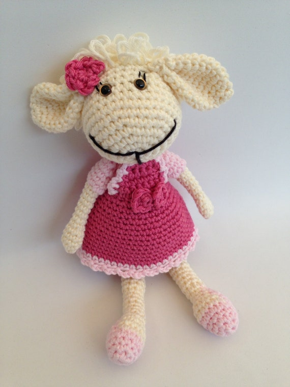 Amigurumi Sheep Doll : Little sheep doll amigurumi in Pink for children and adults
