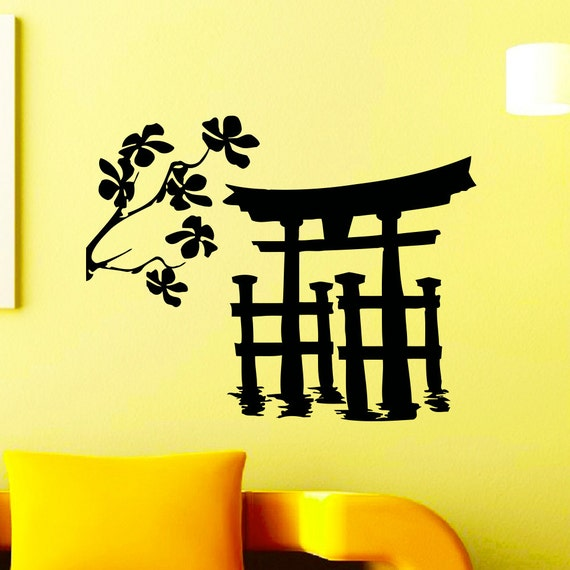 silhouette japanese wall - photo #12