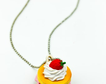 Sweet desserts necklace (Pancakes, Mickey cake, chocolate tablet) 1pc