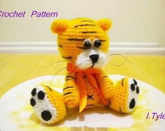 Tiger Crochet Pattern Amigurumi Tiger Olly