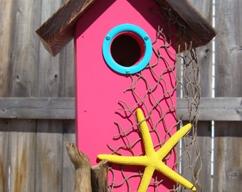 Billbills Wood Beach Birdhouse!