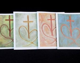 Unending Love Christian Note Cards Set