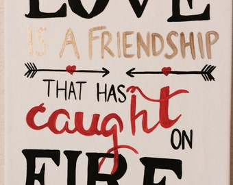 Love Quote Canvas