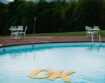 FLOATING Monogram - Pool Decor
