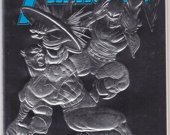 Avengers # 363 Marvel Comics 1993 VF to NM Silver Cover Captain America Sersi Comic Book Art