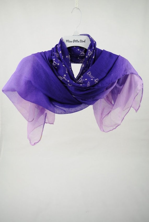 scarf purple scarf s scarf shawl large scarves