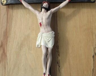 Heavy Wrought Iron Crucifix